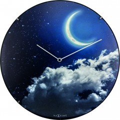 Nextime klok New Moon Dome Glass 35 Luminous 3177