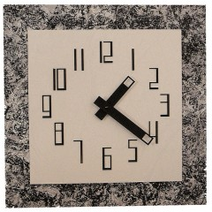 Ferdisign Artclock wand 3244