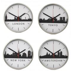 Set van 4 TTD Skyline klokken