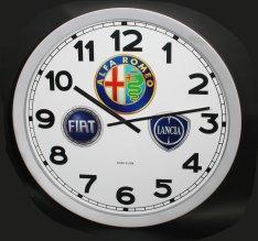 Klok met logo